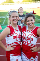 JV Football and Cheer 9-5-2016